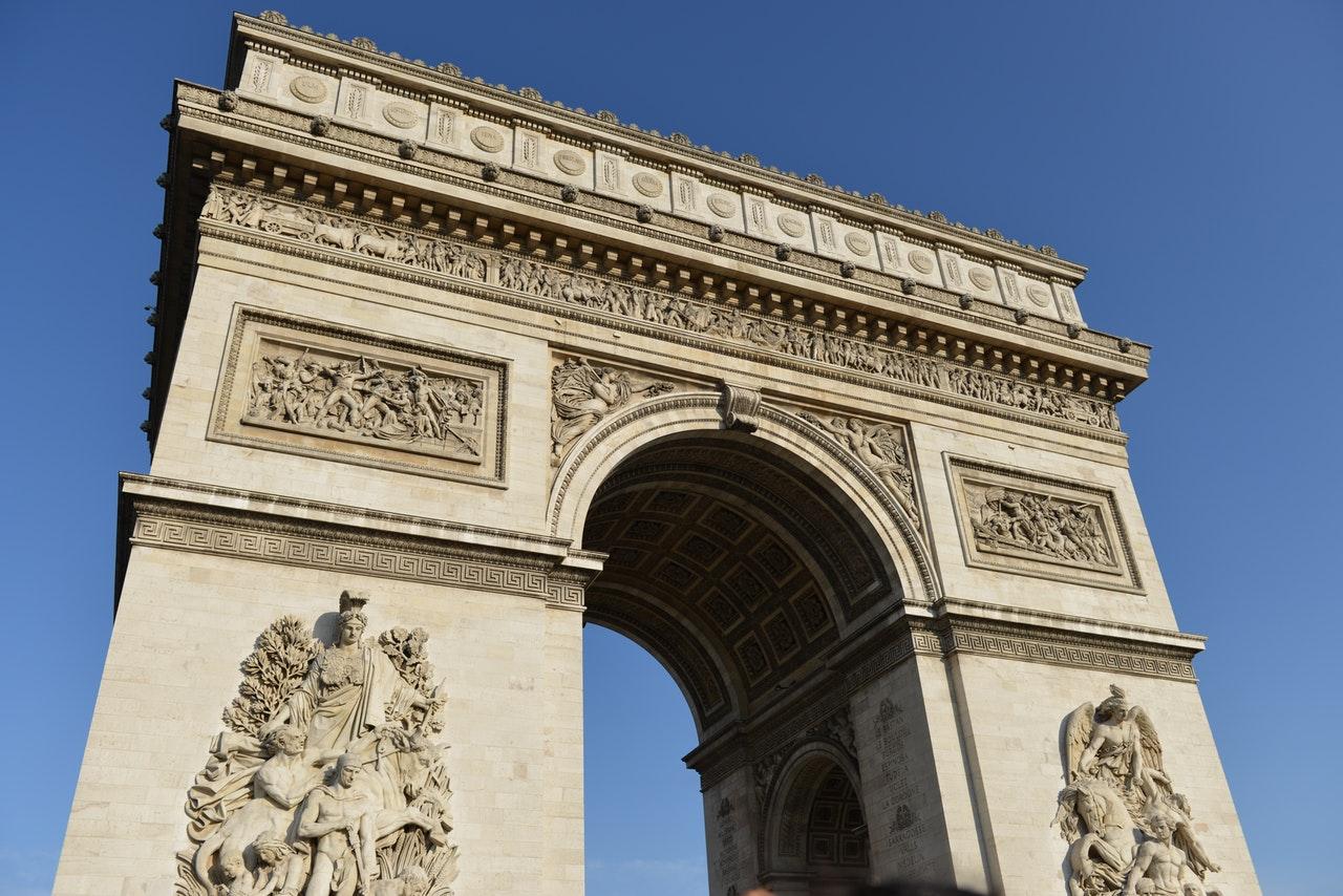 巴黎一道伟大的雕塑,凯旋门